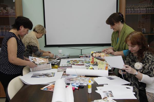 Психолог женской консультации каменской межрайонной больницы провела беседу-тренинг с учащимися средней школы 8